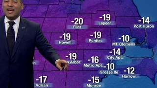 Metro Detroit weather: Fair skies Friday evening, cold temperatures