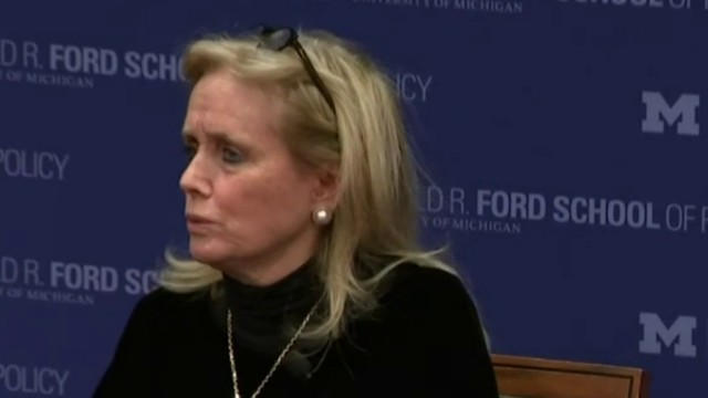 Michigan Rep. Debbie Dingell speaks at event on bipartisan cooperation&hellip&#x3b;