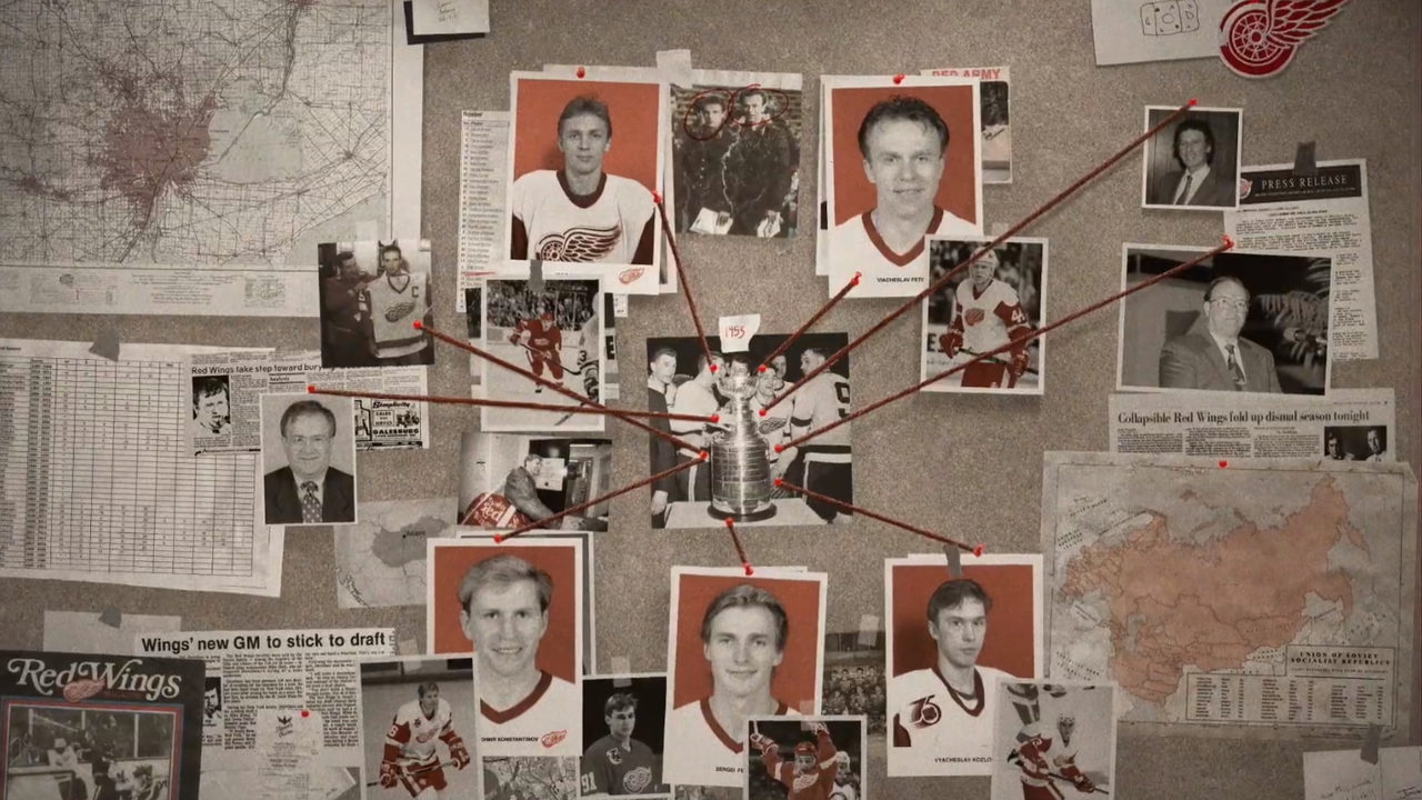 Red Wings 'Russian Five' documentary now streaming