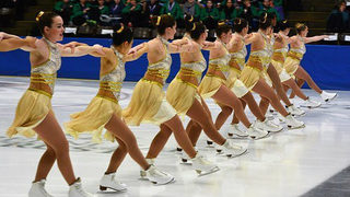 See Ann Arbor's synchronized skating talent at Yost Ice Arena on Sunday