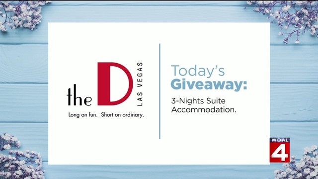 Here's your chance to win big during Live in the D's Wedding Week