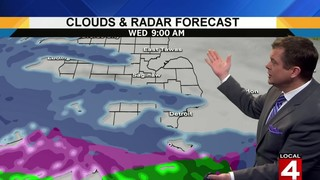 Metro Detroit weather: Cold, clear Tuesday&#x3b; wintry mix Wednesday