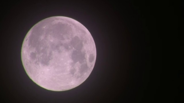 VIDEO: The Super Snow Moon in Michigan