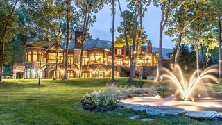 Bloomfield Township estate on 11 acres, private road listed for nearly $7.5M