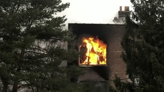Crews respond to fire at apartment complex on Detroit's west side