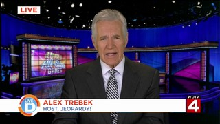 Alex Trebek talks to Live In The D about the new teams on Jeopardy!