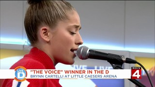 The youngest winner of 'The Voice' stops in the D before her opening act&hellip&#x3b;