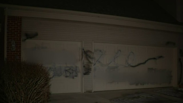 Arab-American man finds racial slur painted on garage of Ypsilanti Township home