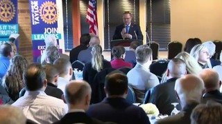 Taylor Mayor Rick Sollars gives State of the City while under&hellip&#x3b;