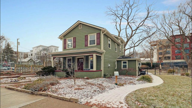Take a look at this whimsical home in downtown Ann Arbor