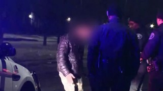VIDEO: Man dances during field sobriety test after car crashes into Detroit home