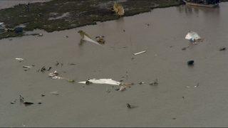 Boeing 767 cargo plane with 3 aboard crashes near Houston