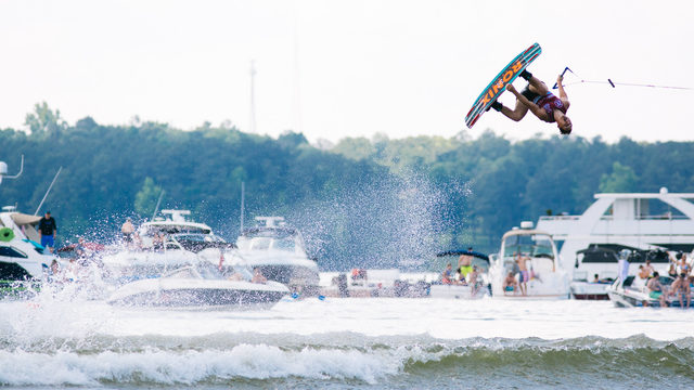 High-flying Supra Boats Pro Wakeboard Tour coming to Ford Lake Saturday