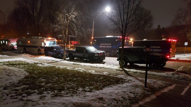 Ann Arbor police: Fugitive surrenders after barricading himself in basement