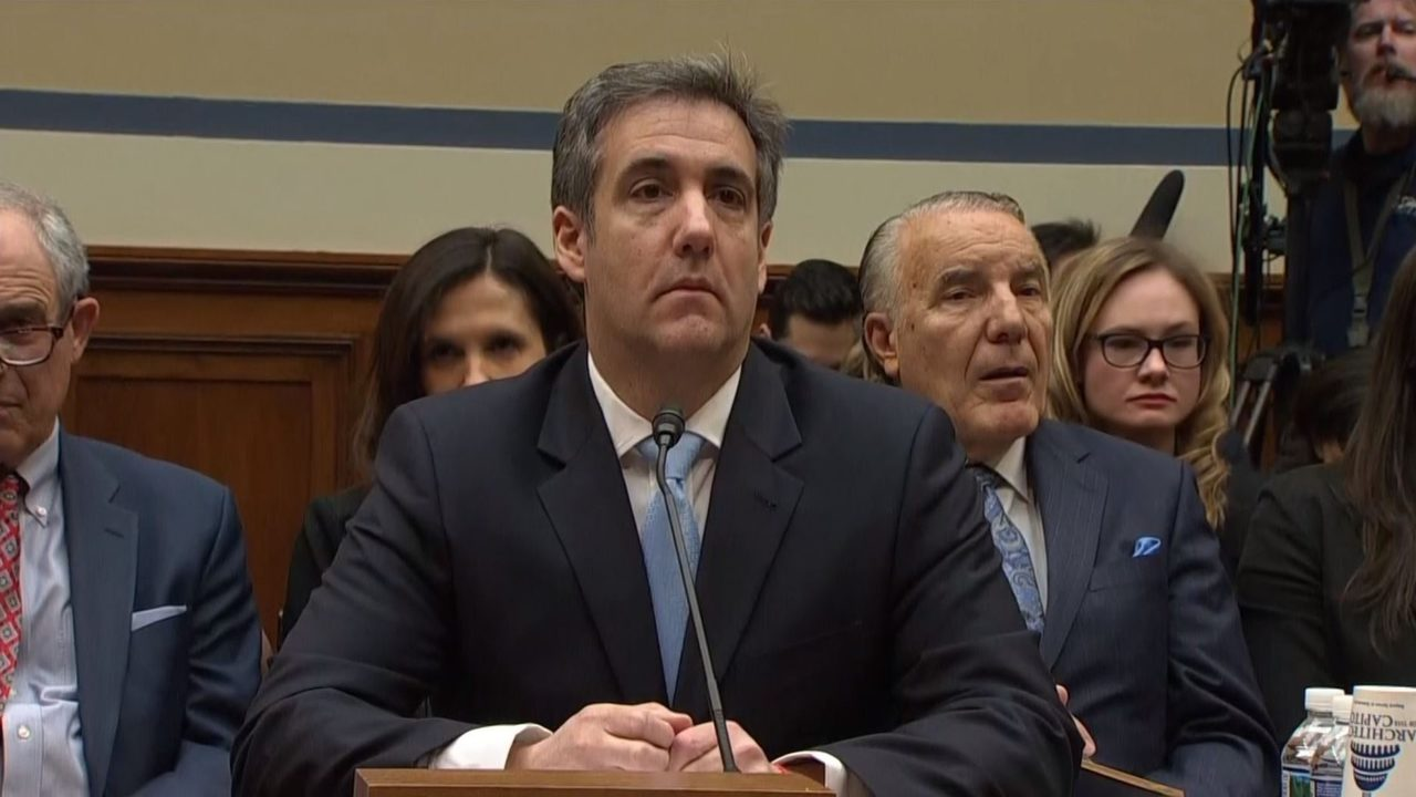 Image result for michael cohen testifies
