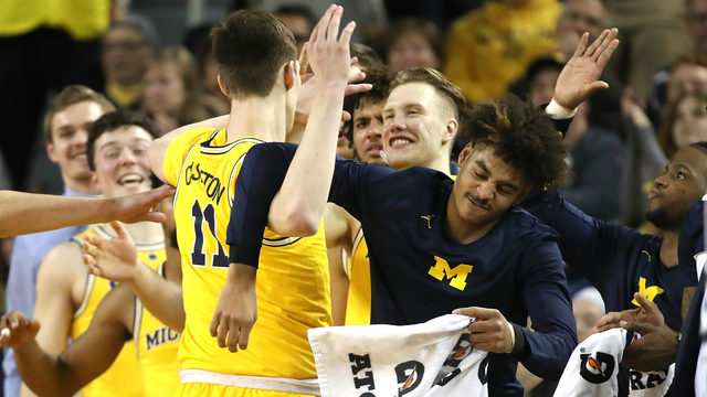Michigan basketball locks up double bye as top-four seed in Big Ten Tournament