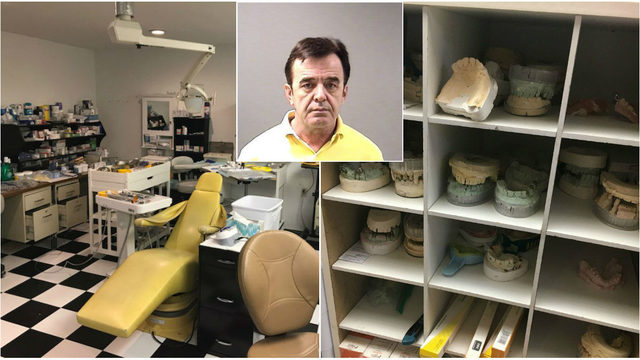 Clinton Township man accused of running illegal dentist's office in basement