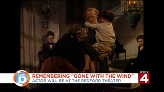 Actor from 'Gone with the Wind' visits Redford Theater, recalls life on set
