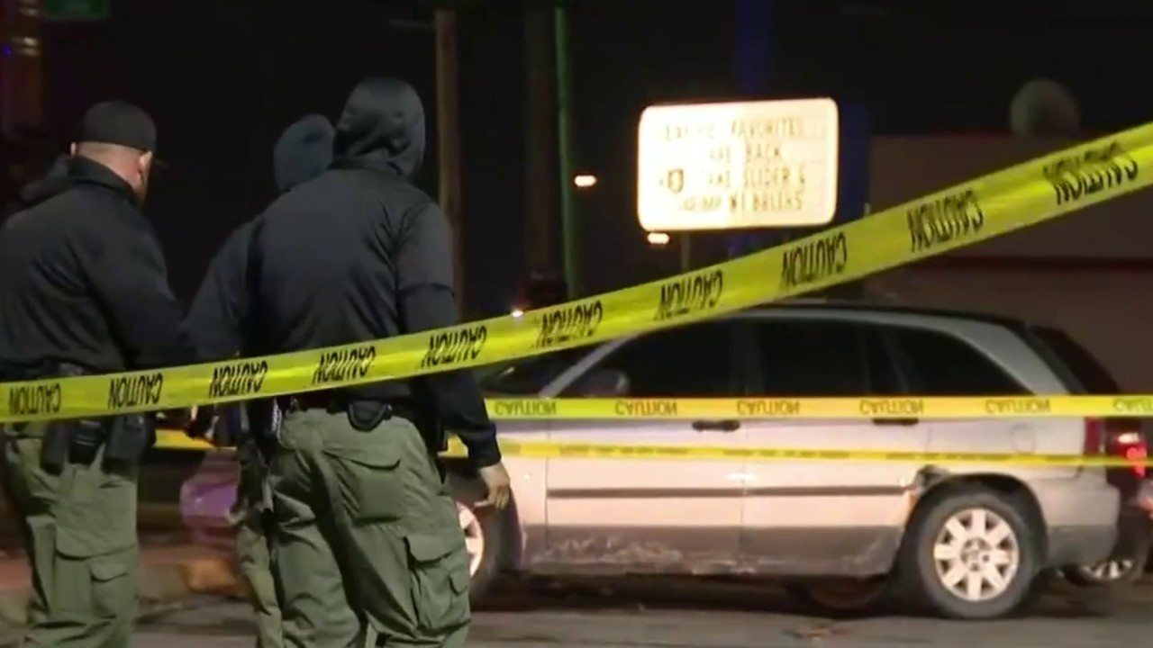 Unknown gunman opens fire on vehicle full of children at Detroit White Castle