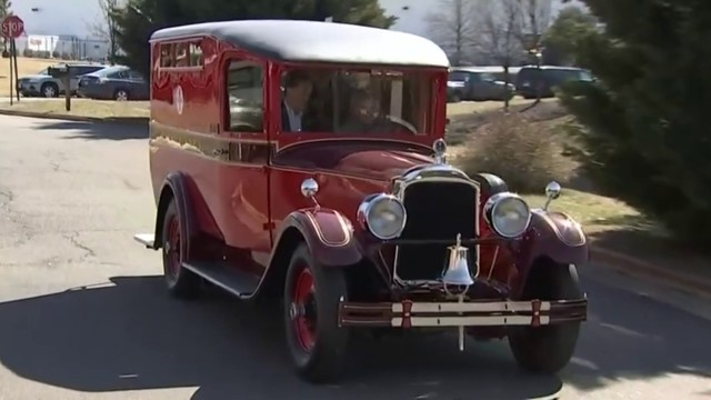 Detroit Fire Department's first ambulance on the road again 92 years later