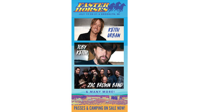 Live in the D Faster Horses Giveaway Rules