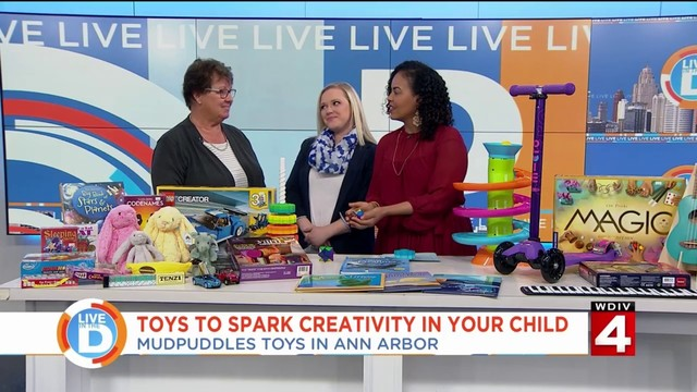 This is the place for toys that will spark your child's creativity!