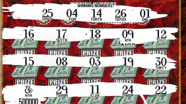Michigan Lottery: Macomb County man wins $500K on scratch off ticket