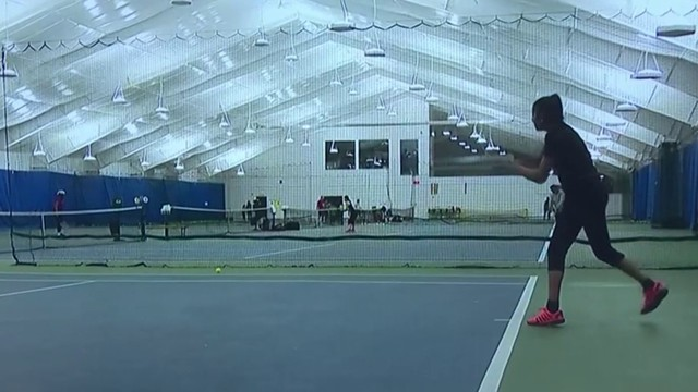 Teen tennis star finds unique way to pursue dreams while obtaining education
