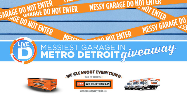 Official rules: Live in the D's Messiest Garage Giveaway