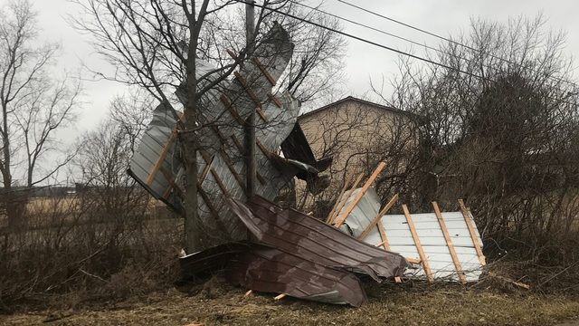 Shiawassee County hit by 2 tornadoes, dozens of homes damaged