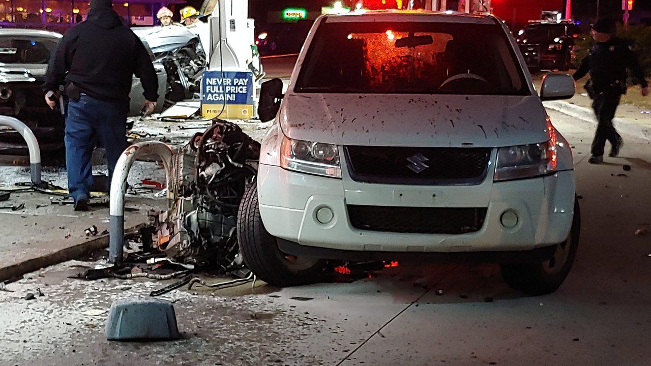 Police investigating fatal collision at Allen Park gas station