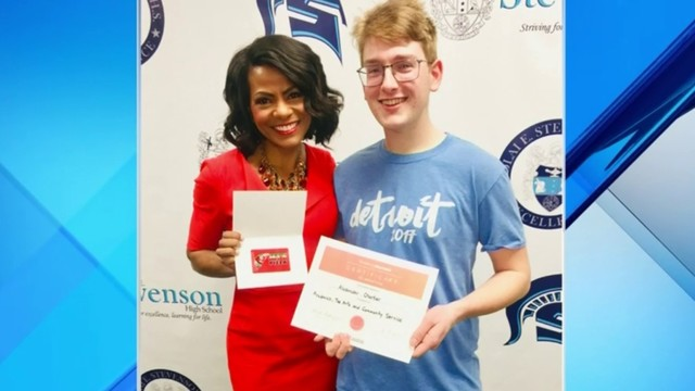 Rhonda's Brag Book: Alex Chartier lives to serve others