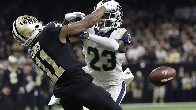 NFL owners consider proposal tweaking pass interference reviews