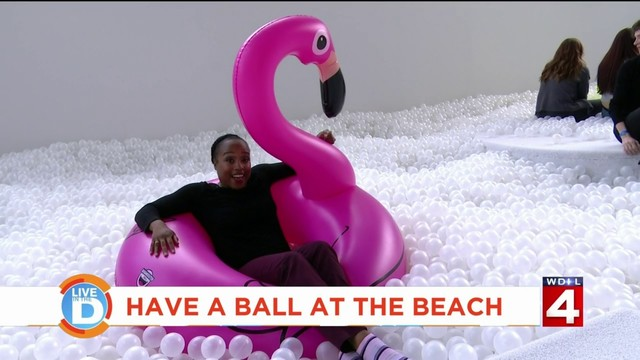Have a ball at The Beach Detroit in Campus Martius