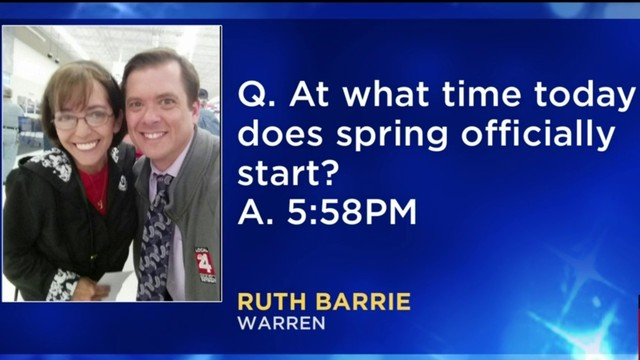 Morning Trivia for March 20, 2019: Ruth is the best!