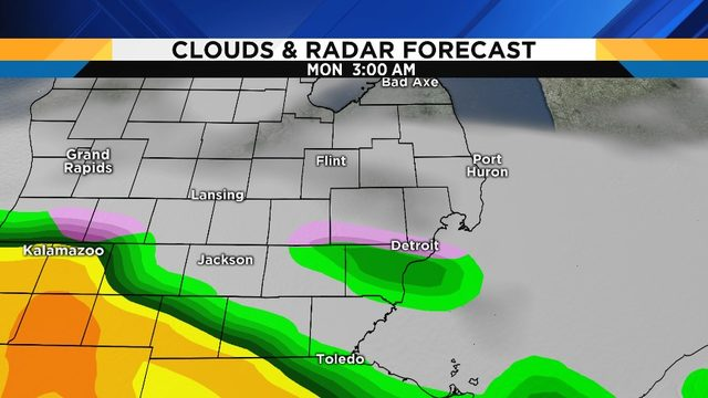 Metro Detroit weather: Nice weekend ahead, scattered rain showers forecasted