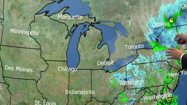 Metro Detroit weather: Much colder with clearing skies Friday night