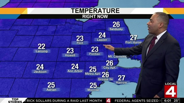 Metro Detroit weather forecast: Sunny, cool Saturday afternoon after a&hellip&#x3b;