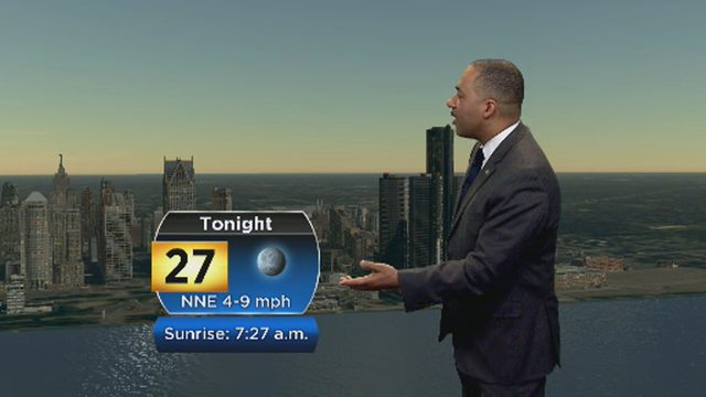 Metro Detroit weather forecast: Overnight lows in the 20s