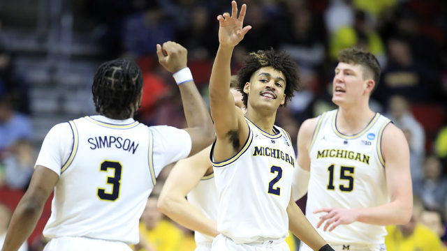 Michigan basketball faces much tougher road to this year's Final Four
