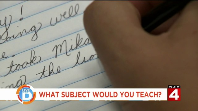 Talkin' with Tati: If you were a teacher, what subject would you teach?