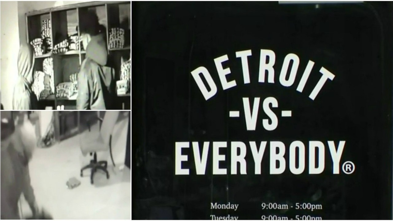Thieves steal 60K worth of merchandise from Detroit Vs Everybody store at Eastern Market
