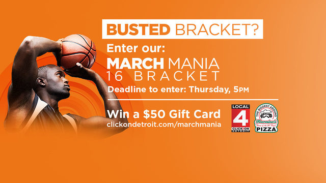 March Mania: Bracket busted? You can still enter in the 4 bracket contest