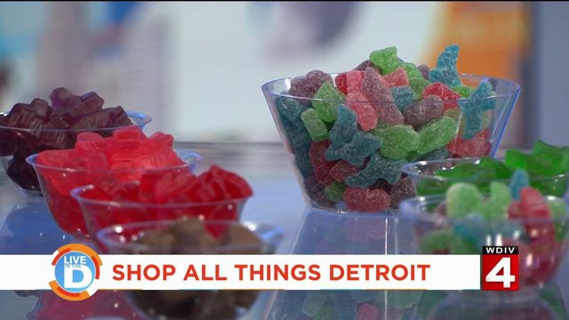 Shopping 'All Things Detroit' with Shurms Candy