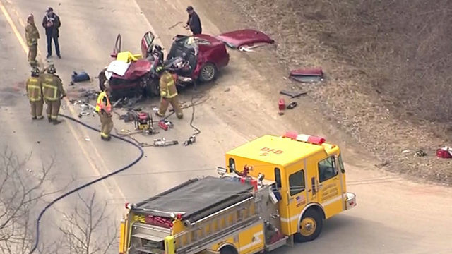 Drivers rushed to hospital after violent crash on Seymour Lake Road in&hellip&#x3b;