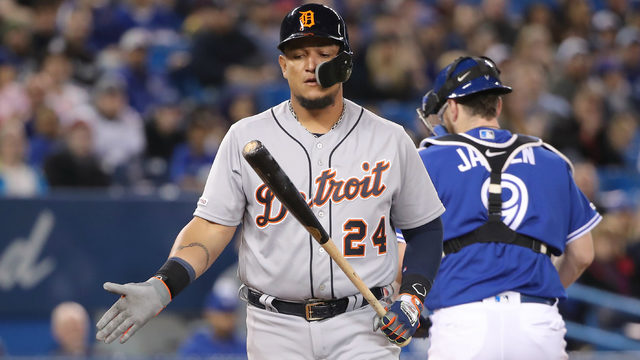 Worst numbers from Detroit Tigers' rough offensive series in Toronto