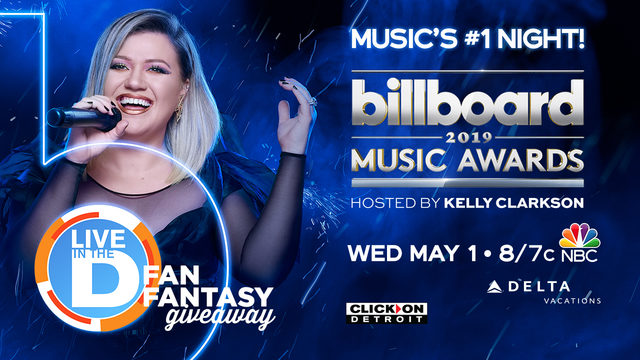 Billboard Music Awards Live in the D Fan Fantasy Giveaway Rules