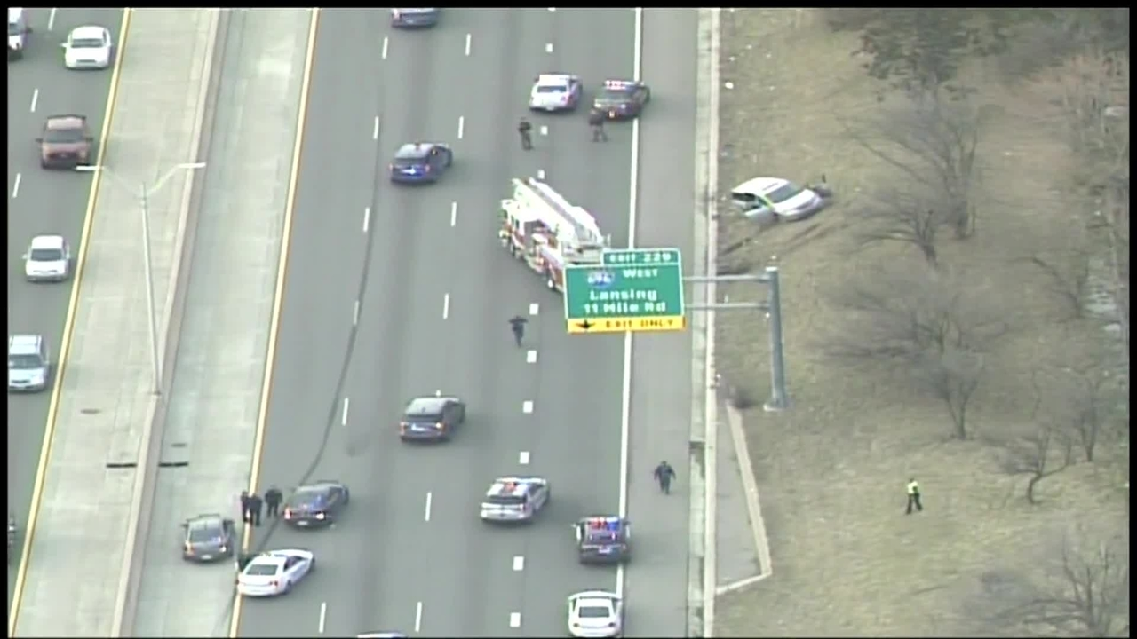 Westbound I-94 reopens at 12 Mile Road after crash linked to