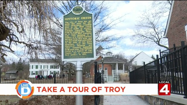 "Take a tour of Troy, ""the city of tomorrow -- today"