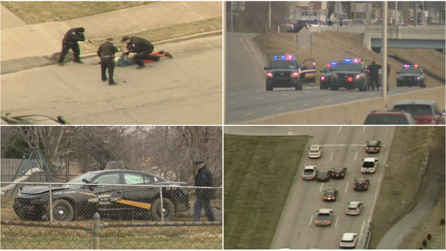 Sterling Heights police cruiser stolen during wild chase through several…